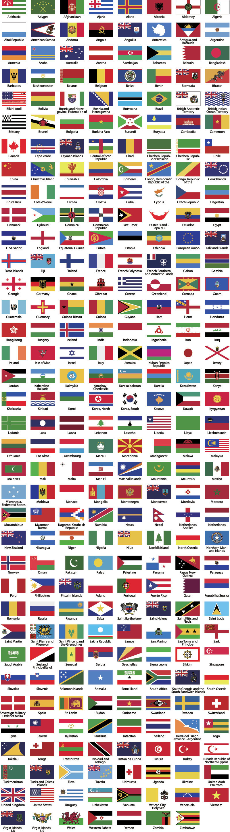 68e1fa68a635b964b36fdf47f4afbac6 free world flags vector